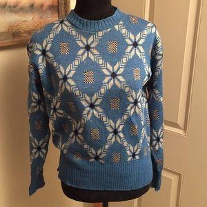Vintage 💯 Pure Wool Icelandic Sweater